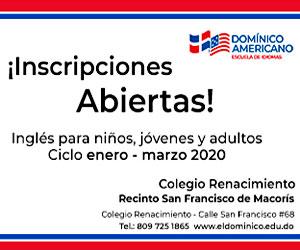 Instituto Domínico Americano  Inscripciones abierta  Inglés para niño, jóvenes y adultos, ciclo enero - marzo 2020, colegio renacimiento San Francisco de Macorís, 809-725-1865, http://eldominico.edu.do